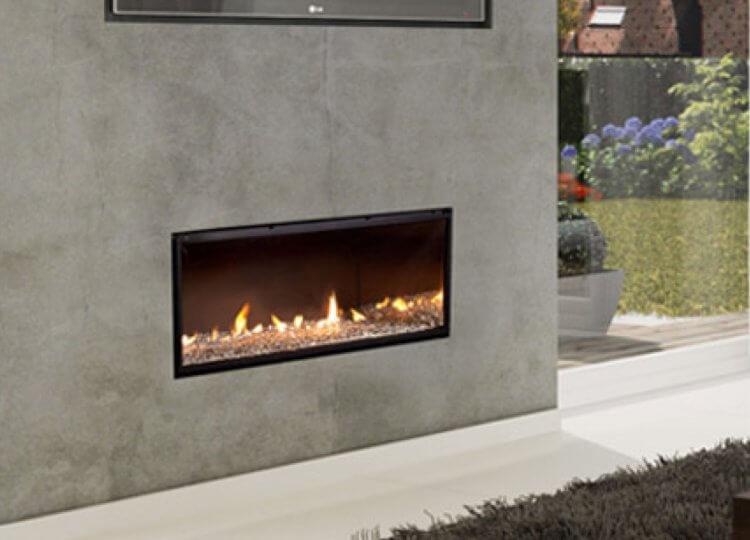 Escea DX1000 Gas Fireplace (Single Sided) Stoke
