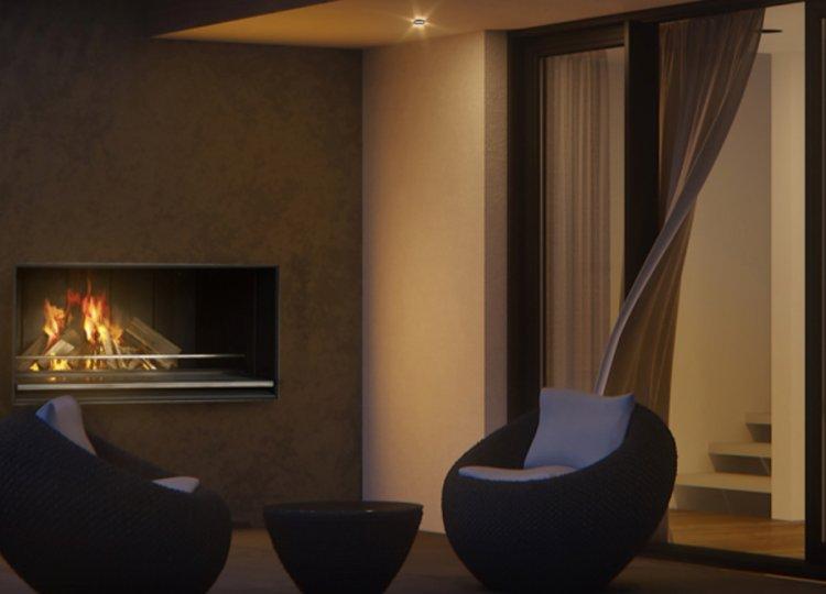 Escea EK1550 Outdoor Fireplace Kitchen