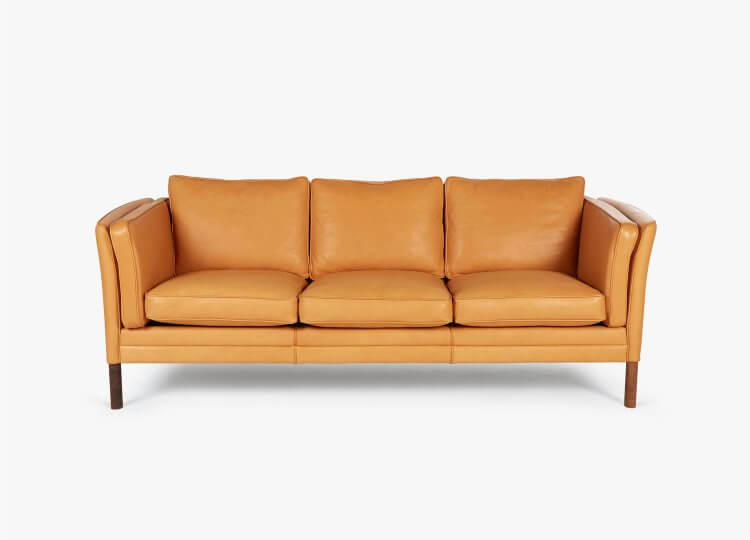 Klassik Sofa 3 seater leather Great Dane