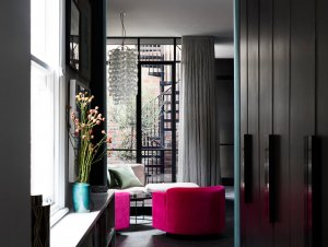 Living Room: Gertrude Street Home of Designer Kate Challis