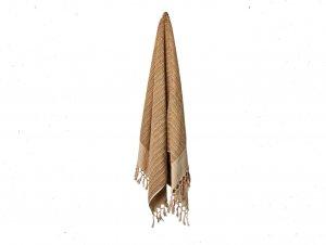 Loom Sand Dune Stripe Bath Towel