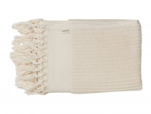 Loom Ecru Bath Towel