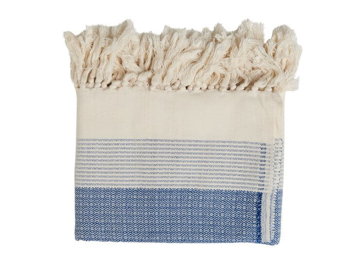 Loom Pestamal Blue Towel Loom Towels