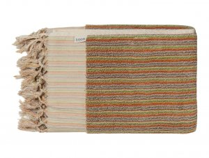 Loom Sand Dune Stripe Bath Towel