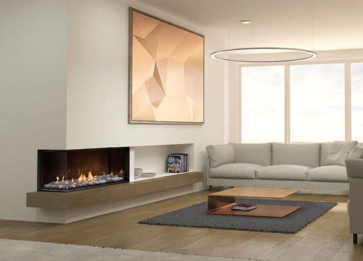 Mode Corner Gas Fireplace