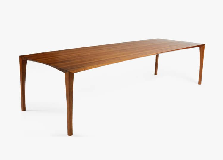 Johansen Rectangle Walnut Table Great Dane