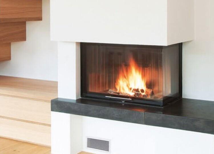 Spartherm Corner Wood Fireplace