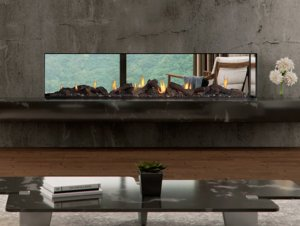 Escea DS1900 Gas Fireplace (Double Sided)