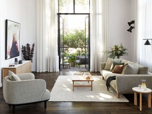 Living Room: Studio Nine Apartment