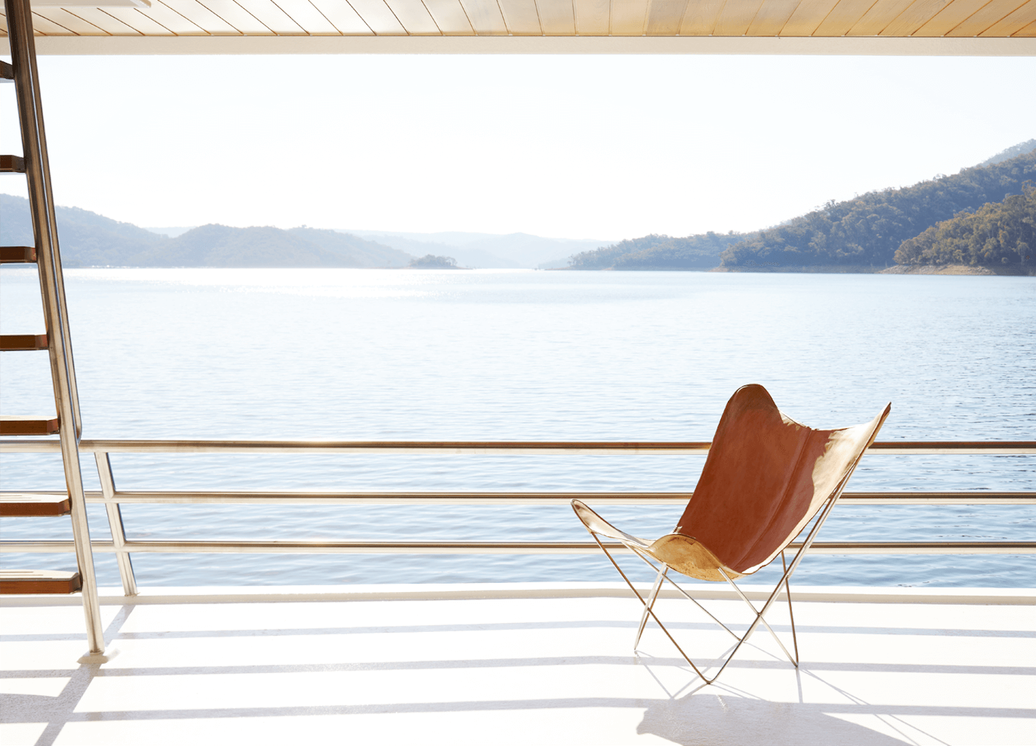 Est Collection: Houseboats | Lake Eildon Houseboat by Pipkorn & Kilpatrick