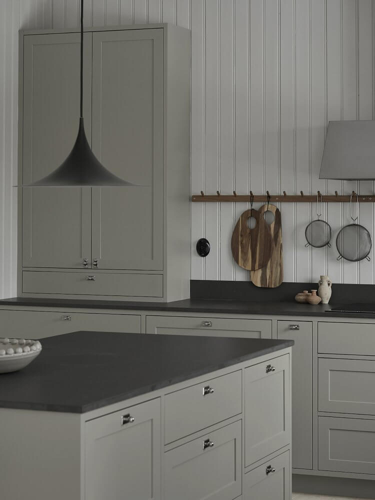 Grey Shaker Kitchen by Nordiska Kok | Designing a Nordic-Style Kitchen