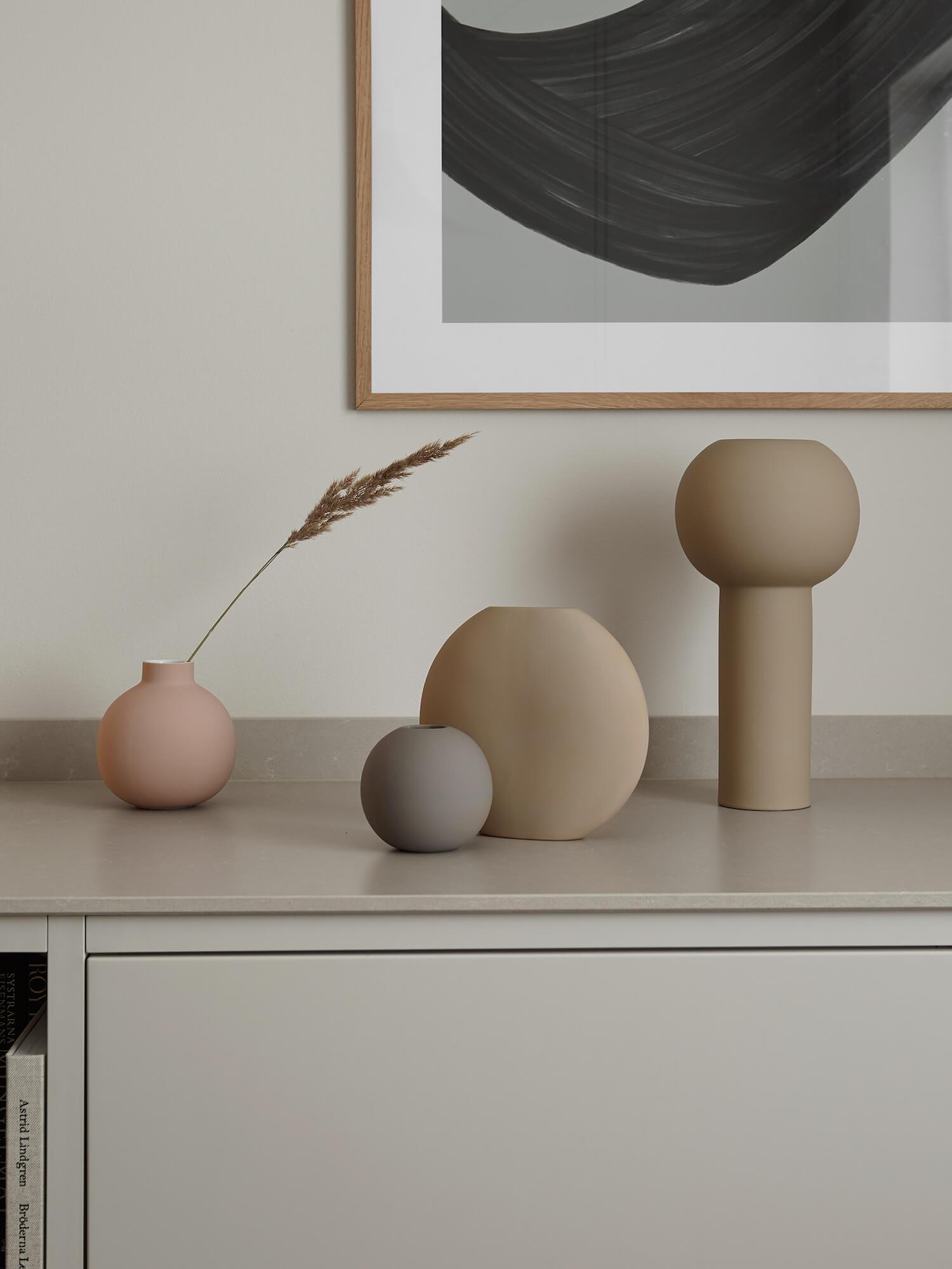 Grey Minimalist Kitchen by Nordiska Kok | Designing a Nordic-Style Kitchen | Cosentino | est living