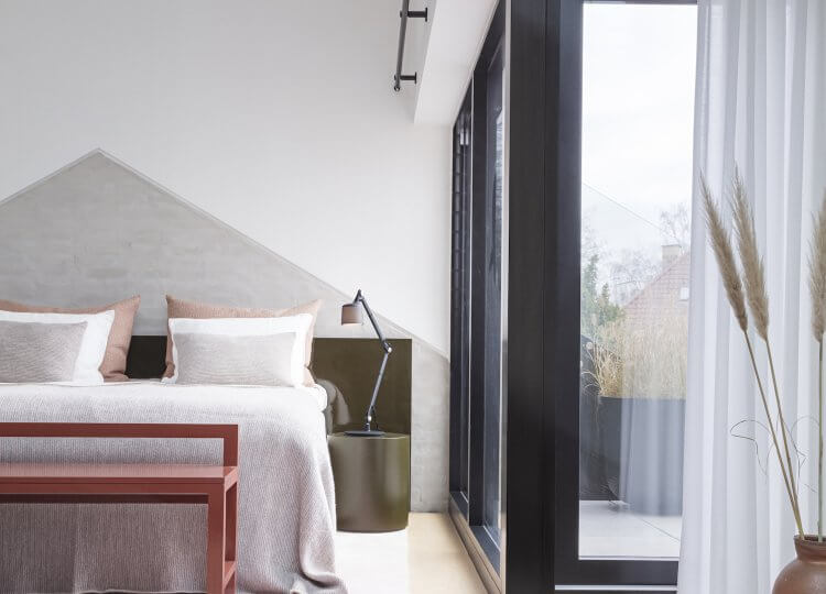 Bedroom | The Vipp Chimney House Bedroom by Studio David Thulstrup